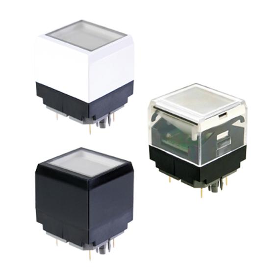 方形LED按钮开关