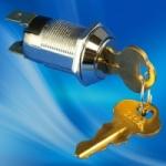 19mm S203A S203AM 钥匙开关