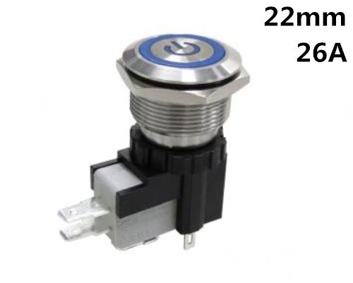 MW 22带灯按钮开关